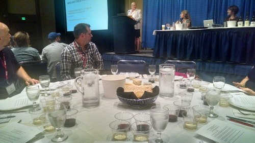 Wine and Cheese Tasting at ACS