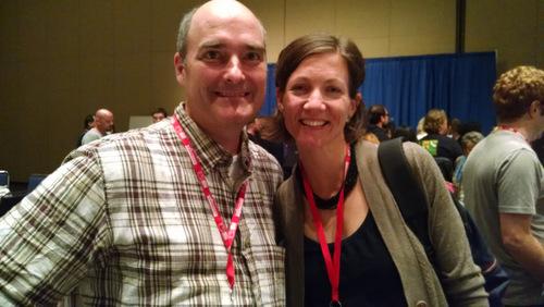 Eric and Louella at ACS 2014