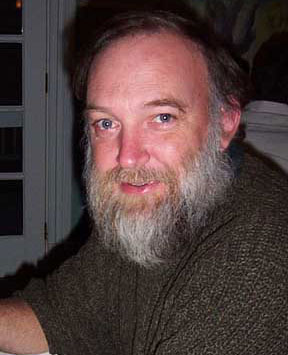 Russell Libby at the Castine Inn MOFGA dinner in 2002