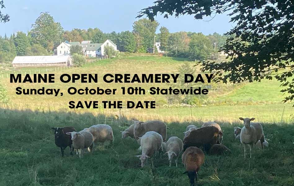 Maine Open Creamery Day